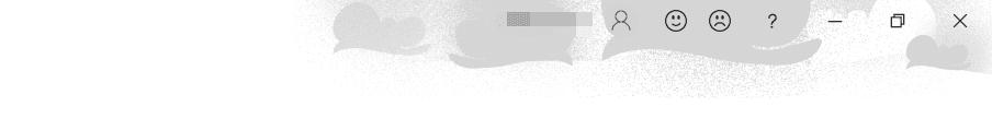 [Office の背景]雲