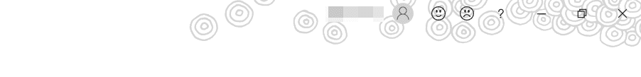 [Office の背景]手書きの円