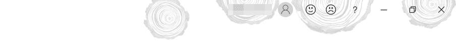 [Office の背景]年輪
