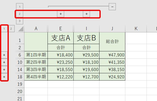 四半期決算の集計