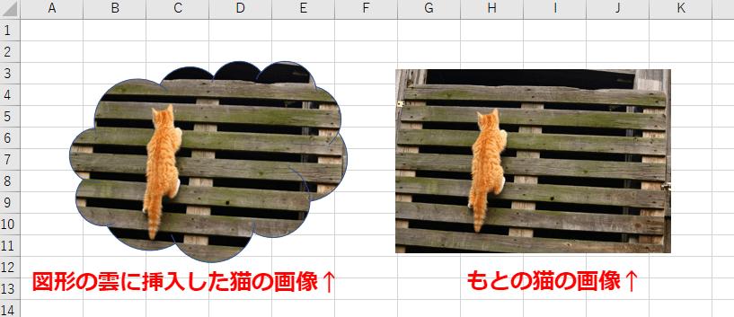 図形に画像を挿入